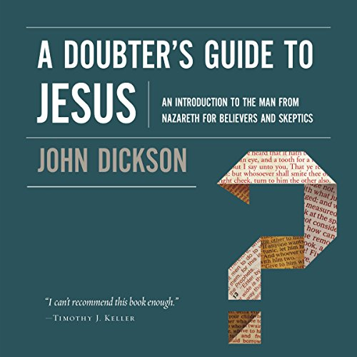 A Doubter's Guide to Jesus audiobook cover art