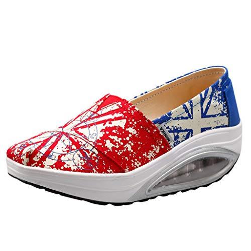 Posional Hombre Mujer Zapatillas de Deporte Calzado Deportivo Aptitud Running Sports Trainers Gimnasio Air Cushion Zapatos para Correr Verano Zapatos Calzado Deportivo Zapatos Casuales