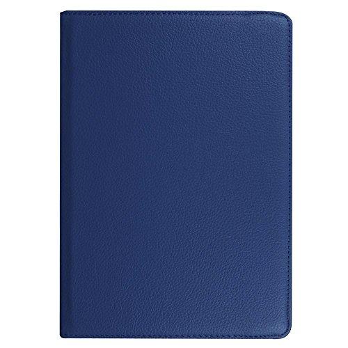 DETUOSI Hülle Kompatibel mit Huawei T3 10,360° Drehbarer PU Leder Tasche Hülle Etui Schutzhülle für Huawei Mediapad T3 10.0 Zoll Tablet Case Cover Bookstyle Lederhülle mit Multi Ständer - 3