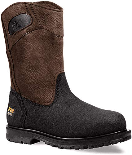 Timberland Pro Powerwelt Botas Wellington para hombre, Marrón (Rancher Brown), 10.5 D(M) US