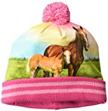 John Deere Girls' Little Winter Hat, Pink, Toddler