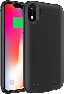 41b934cb342 LifeePro iPhone X iPhone XS Funda Batería, 4200mAh Recargable Externa  Portátil Batería Cargador Pack Power