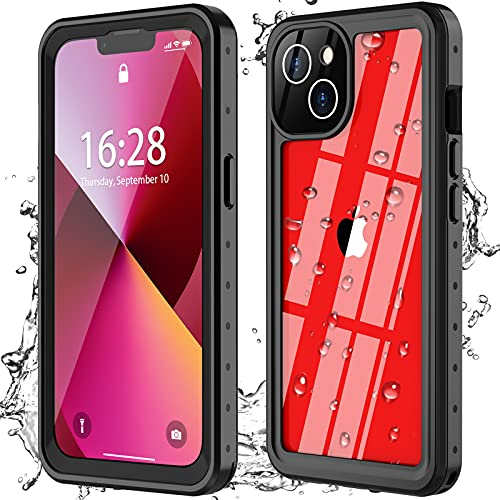 Oterkin for iPhone 13 Case,iPhone 13 Waterproof Case 360 Degree Full Sealed with Built-in Screen Protector Shockproof Dustproof Clear Case...