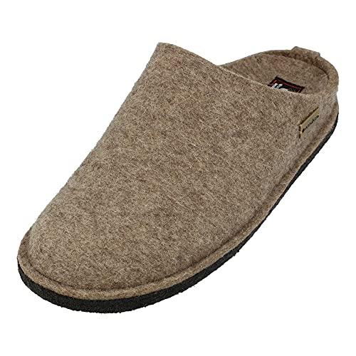 Haflinger Soft, Pantofole Unisex – Adulto, Beige (Beige (550 torf)), 37
