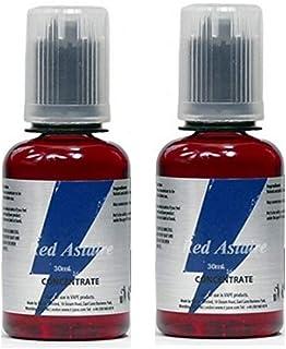 Juego de 2 aromas concentrados Red Astaire - 30 ml - T Juice (sin nicotina y sin tabaco)