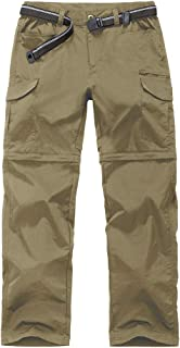 Men's Outdoor Quick-Dry Lightweight Waterproof Hiking Mountain Pants with Belt m885