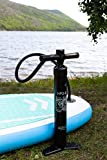 Hand Pump for SUP with Gauge High Pressure Double Action | 2-Way Inflation and Deflation for 9' 10'...