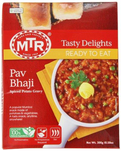 MTR Pav Bhaji, 10.5-Ounce Boxes (Pa…