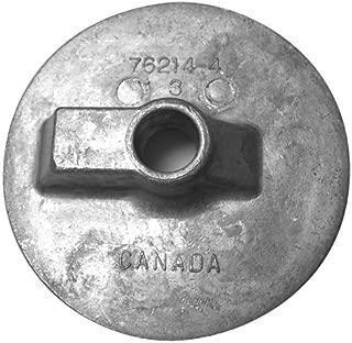 Martyr CM762144M, Magnesium Alloy Trim Tab Flat Mercury/Mercruiser Anode