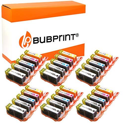 30 Bubprint Druckerpatronen kompatibel für Canon PGI-525 CLI-526 für IP4850 IP4950 IX6550 MG5150 MG5250 MG5300 MG5350 MG6150 MG6250 MG8150 MG8250 MX715 MX885 MX895 Multipack