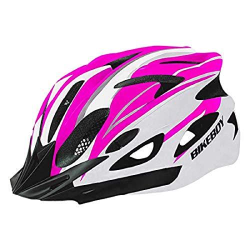 Elegantstunning - Casco de equitación para bicicleta, equipo para bicicleta de carretera, bicicleta de montaña, gorro de equilibrio seguro para hombre y mujer