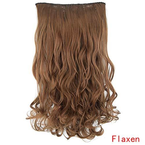 Tonsee Charme de la mode Clip en forme de U avec demi-couverture avec clip 7 dans les extensions de cheveuxCurly Pretty Wom