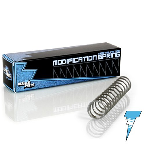 Blasterparts - Tuning-Feder passend für Nerf N-Strike Elite Rampage - Dartblaster Modding für Mehr Reichweite und Schnelle Darts - Blaster-Zubehör