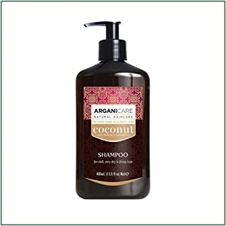 ARGANICARE Champú Coconut For Dull Very Dry & Frizzy Hair 400 ml