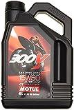 Motul 104129 Huile Moto 15W504T Syn 300V FL Road Racing 4L 3
