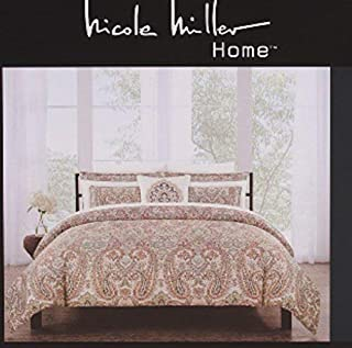 Amazon.com: Nicole Miller   Bedding & Bath: Home & Kitchen
