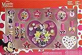 Minnie Mouse Beauty Blockbuster Set - Neceser Minnie, Set de Maquillaje para Niñas - Maquillaje Minnie - Selección de Productos Seguros para un Conjunto de Maquillaje Compacto