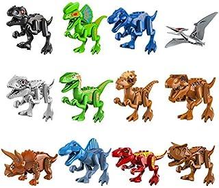 Dinosaurios Bloques De Construcci/ón Juguete De Mini Dinos Adornos para Pasteles Womdee Dinosaurios De Juguete Juego De Juguetes De Dinosaurio del Mundo Zool/ógico para Chicos