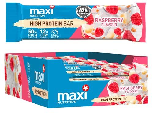 MaxiNutrition High Protein Bar - White Chocolate Raspberry, 24 x 40g (960g)