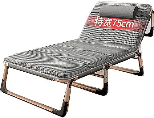 Silla de gravedad cero Silla reclinable Silla de salón plegable Silla de gravedad cero Plegable, silla reclinable Asiento de tumbona plegable con almohada, jardín de playa reclinable de patio al aire