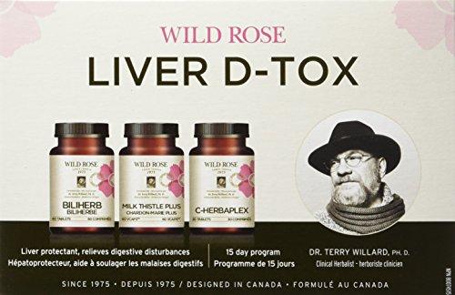 Wild Rose Liver D-Tox Program 1 Box Kit