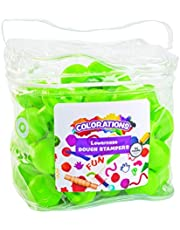 Colorations Alphabet Dough Stampers Set, Lowercase Letters – Set of 26 Letter Stamps, Fun ABC Learning Tool for Toddlers, Ideal for Classroom and Home Learning