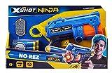 Zuru 36321 X-Shot Ninja No Rez Blaster - Juego de Dardos y Marca, diseño de Ninja, Multicolor