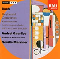 Bach Keyboard Concertos BWV 1052, 1053, 1055, 1056 - Gavrilov