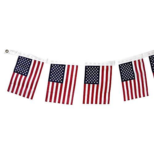 Annin Flagmakers US Flags Garland, 1 EA