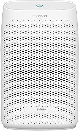 Cecotec Deshumidificador BigDry 2000 Essential - 300 ml/día, depósito extraíble de 0,7 litros, cobertura hasta 20 m2,filtro extraíble y lavable, apagado automático