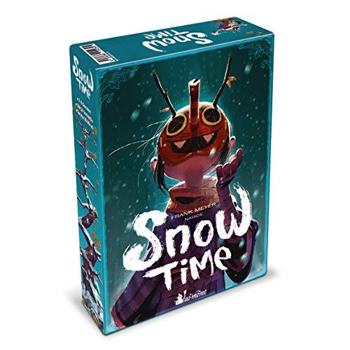 Asmodee- Snow Time – Juego de Mesa edición en Italiano (8955 Asmoe Italia), Color (Lui-Même