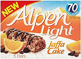 Alpen Light Jaffacake bars - 5 x 19g