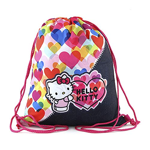 Target Hello Kitty Color Heart Bolsa de Tela y Playa, 34 cm,...