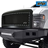 EAG Rivet Wire Mesh Packaged Grille Fit for 08-10 Super Duty F-250/F-350