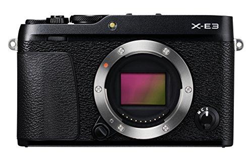 Fujifilm X-E3 - Cuerpo de cámara EVIL de 24.3 MP, color negro