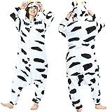 YQ&TL Pijamas Animal Cosplay Unisex niños Adultos Disfraz Pijamas de una Pieza Mejor Regalo para Fiesta de Carnaval de Halloween H M