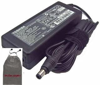 Bundle: 3 items - Adapter/Power Cord//Free Carry Bag:Toshiba AC Adapter 75w 15v5a for Toshiba:Toshiba Satellite A105-S4054 Satellite A105-S4064 Satellite A105-S4074 Satellite A105-S4084 Satellite A105-S4092 Satellite A105-S4094 Satellite A105-S4102 Satellite A105-S4104 100% Compatible With P/N: PA2301U-1ACA, PA3083U-1ACA, PA3201U-1ACA, PA3215U-1ACA, PA3283U-1ACA PA3048U-1ACA, PA3283U-2ACA, PA3283U-3ACA, PA3283U-5ACA, PA3755U-1ACA, PA3241U-1ACA, PA3469U-1ACA
