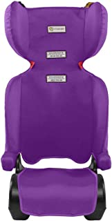 InfaSecure Versatile Folding Booster Car Seat for 4 to 8 Years, Purple