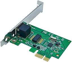 Jeirdus for RTL8111E AC331 PCI-E Gigabit Ethernet LAN Network Card 10/100/1000Mbps Adapter for Desktop PC