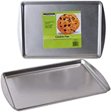 """Party & Catering Supplies, Cooking Concepts Steel Cookie Pans 9 x 13"""", 2 Count Pack, Packaging May Vary"""