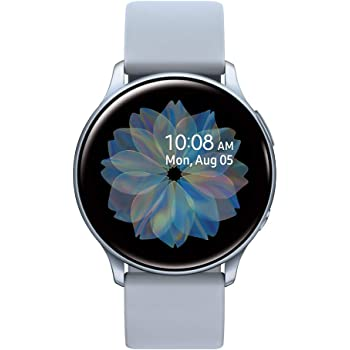 Samsung Galaxy Watch Active 2 (40mm, GPS, Bluetooth) Smart Watch with Advanced Health monitoring, Fitness Tracking , and Long lasting Battery, Silver (US Version)