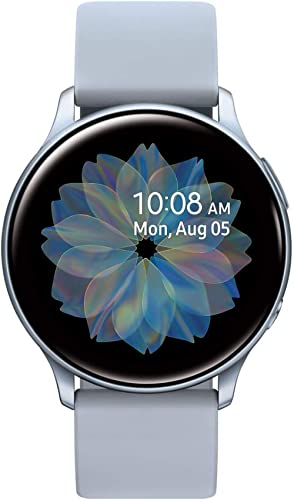 SAMSUNG Galaxy Watch Active2 - Versión de EE. UU, 44mm, Plateado (Cloud Silver)