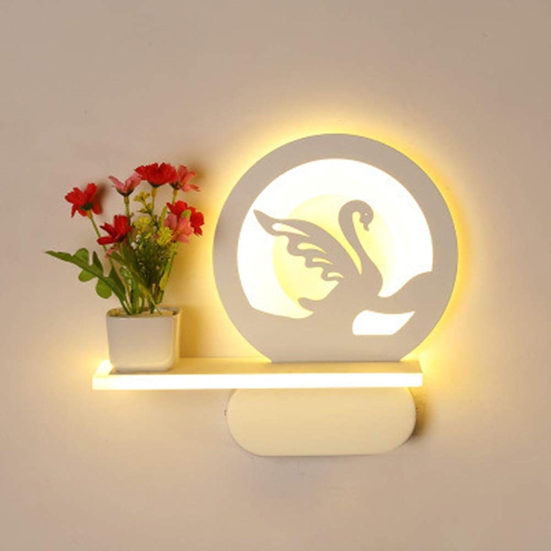 DENGBIDEH Kind LED Wandlampe Modern Kreativ Metall Balkon Korridor Schlafzimmer Wohnzimmer Licht, 013