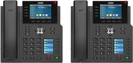 $189 » Fanvil X5U 2-Units High-End IP Phone 16 SIP Lines Dual Gigabit Port PoE Integrated