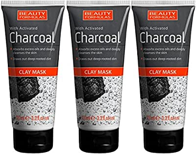 CHARCOAL CLAY MASK 100ML by Beauty Formulas