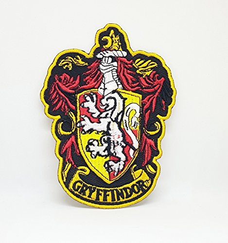 Parche bordado con escudo de Gryffindor de Harry Potter para coser