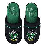 Pantuflas Zapatillas Cinereplicas Harry Potter - Oficial - Alto Confort y Calidad - Sole Pillow Walk - Adulto (M/L, Slytherin)