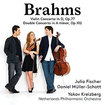 Brahms: Violin Concerto, Op. 77 & Double Concerto for Violin & Cello, Op. 102