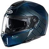 Casco de moto HJC RPHA 90S CARBON BALIAN MC2, Negro/Azul, L