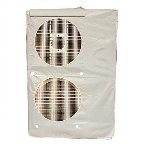YANQIN Cubierta Externa de la máquina del acondicionador de Aire Central, Utilizada para la máquina Externa del acondicionador de Aire, Impermeable, a Prueba de Polvo y antienvejecimiento